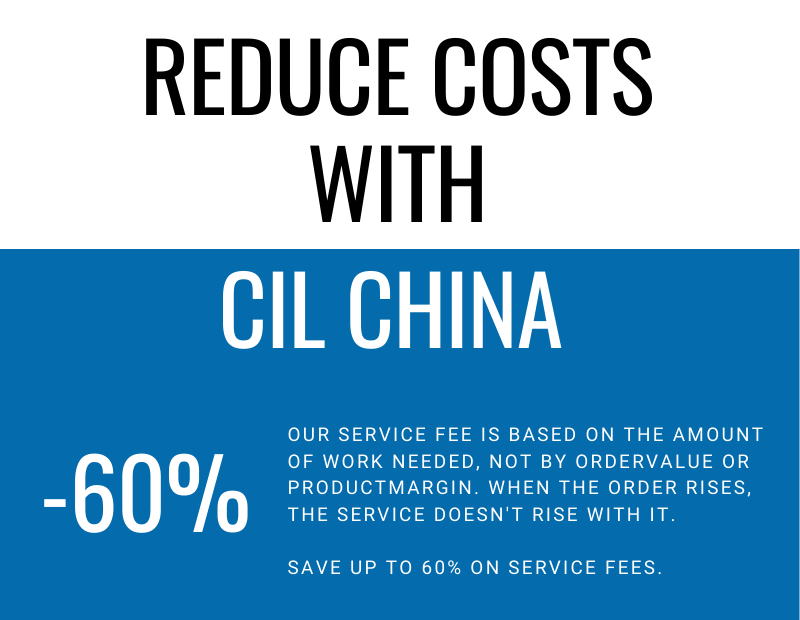 Reducing costs sourcing supply chain management CIL China